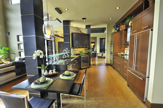 Private Residence6 contemporary-kitchen