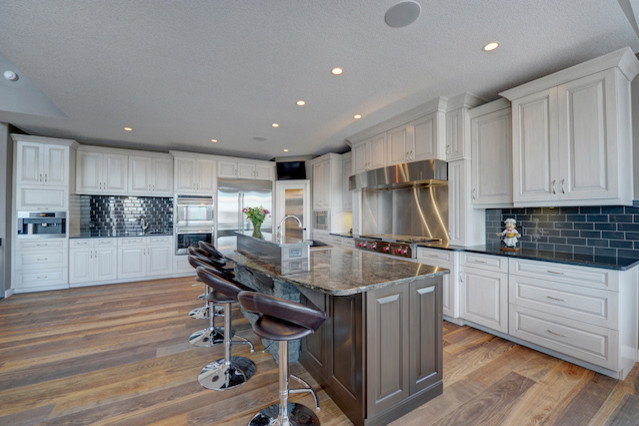 Private Residences Contemporary Kitchen Edmonton By Addison Grace Design
