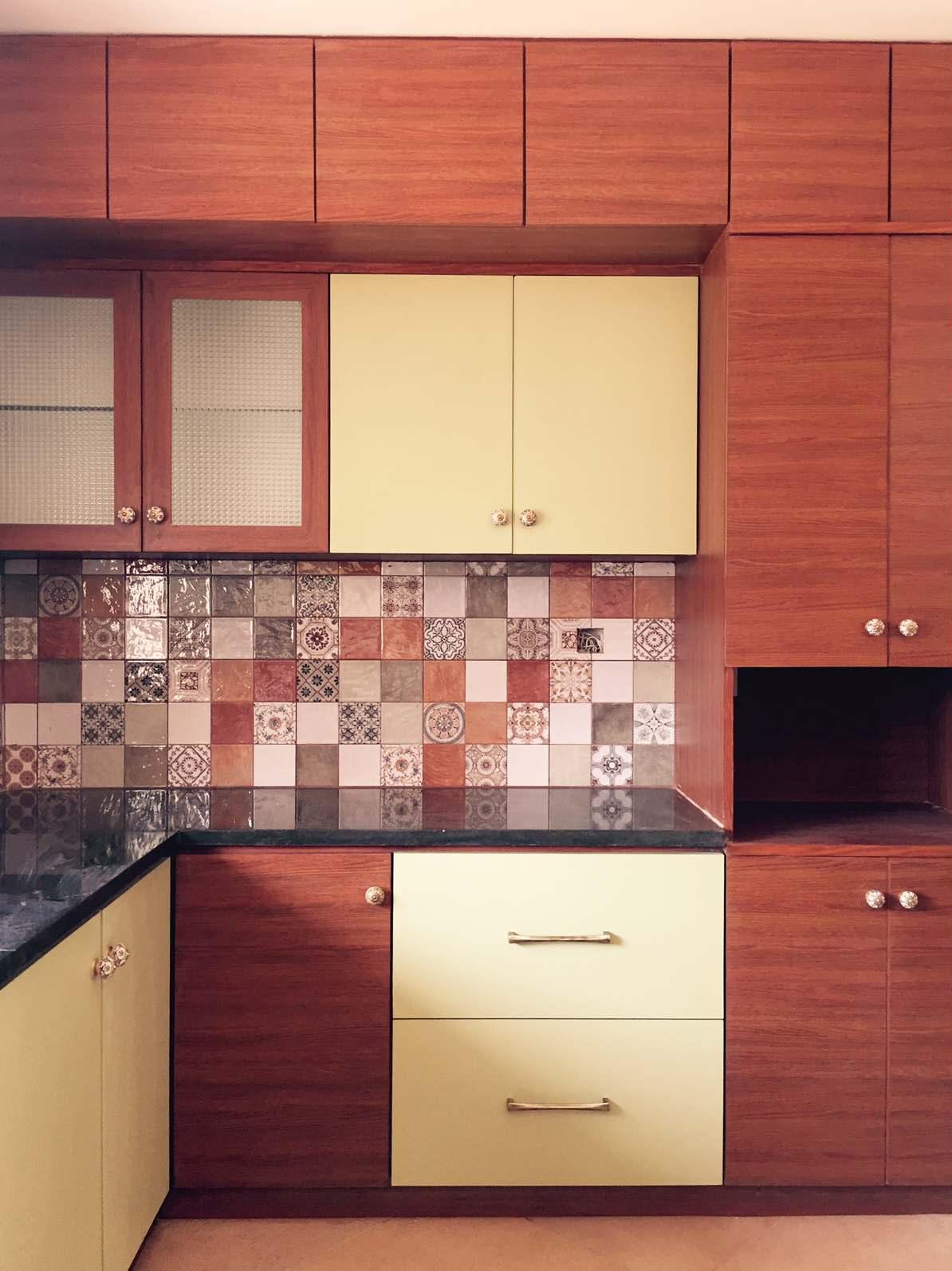 Indian Kitchen Tile Photos, Designs & Ideas