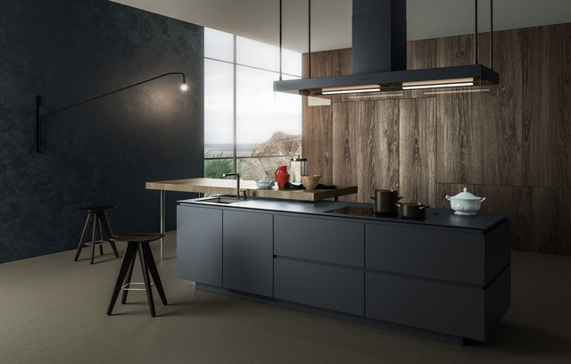 Product visualization of a modern kitchen: Artex, Varenna | Poliform ...