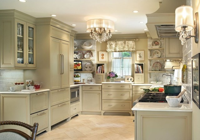 Professional photos published of Olive Green Kitchen traditional-kitchen