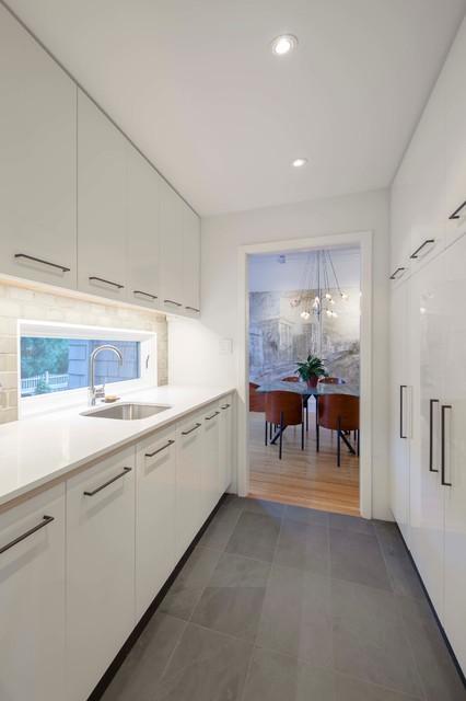 Professor's Row Renovation contemporary-kitchen