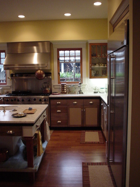 Professorville Home traditional-kitchen