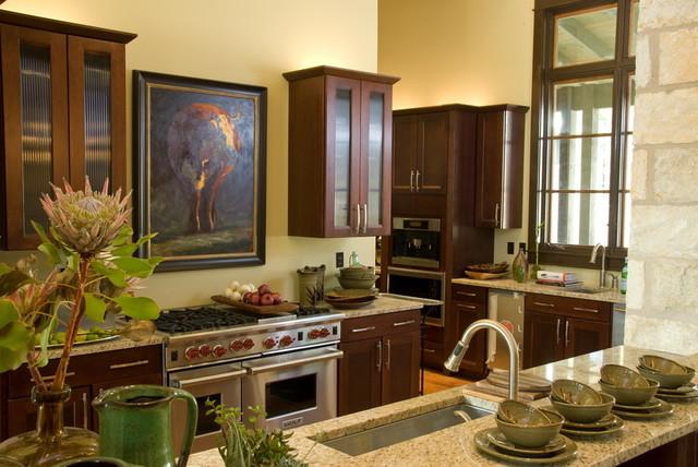 Progressive Farmer Idea House traditional-kitchen