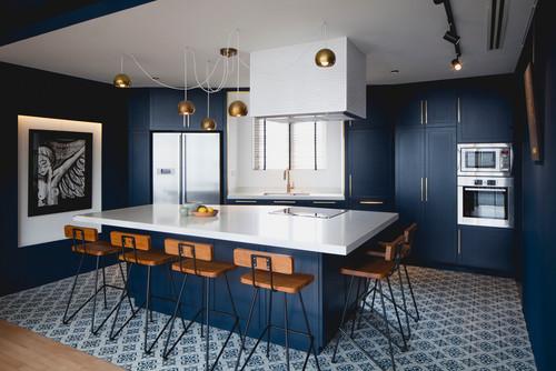 Ideas We Love 31 Scrumptious Blue Kitchens