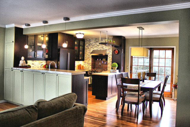 project in Eastchester, NY modern-kitchen