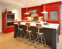 Project in North Salem, NY eclectic-kitchen