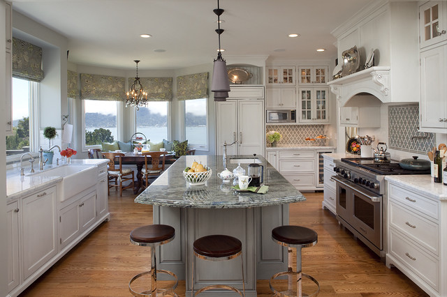 Project in Tiburon traditional kitchen