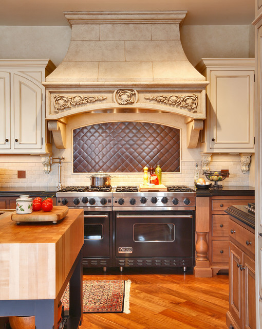 project in Westport, CT traditional-kitchen