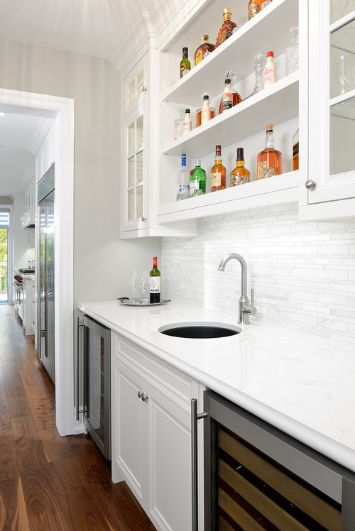 what is the name of the backsplash by the wet bar - What Is Backsplash