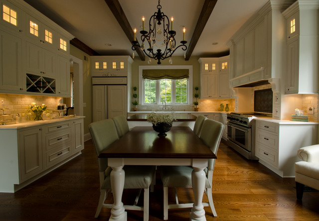 Project R traditional-kitchen