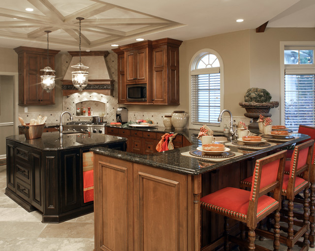 Project 'Two' traditional-kitchen