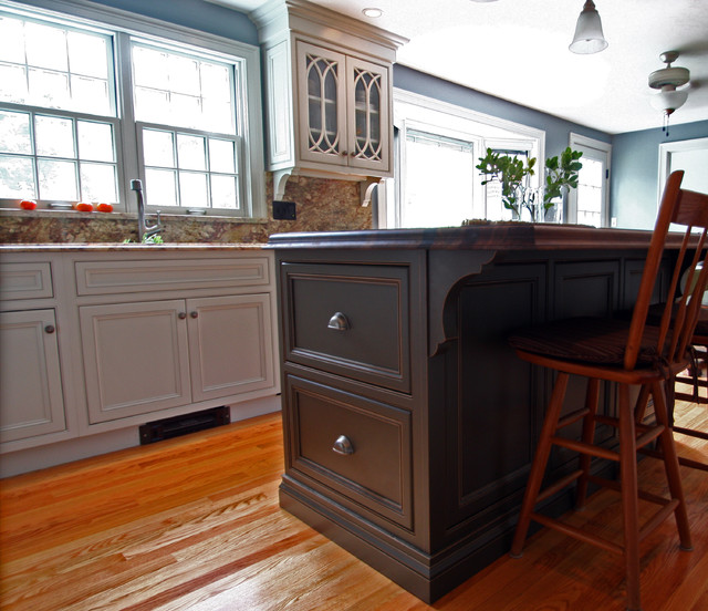 Project1-Hopkinton, MA - Traditional - Kitchen - boston - by Wayside ...