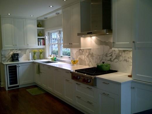 Projet Ville Mont-Royal contemporary-kitchen