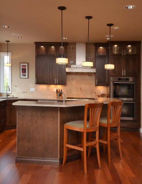 Prominence point anchorage alaska contemporary for Anchorage kitchen cabinets