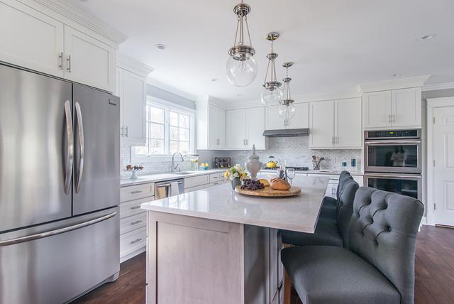 Property Brothers Hgtv Norwalk Transitional Kitchen