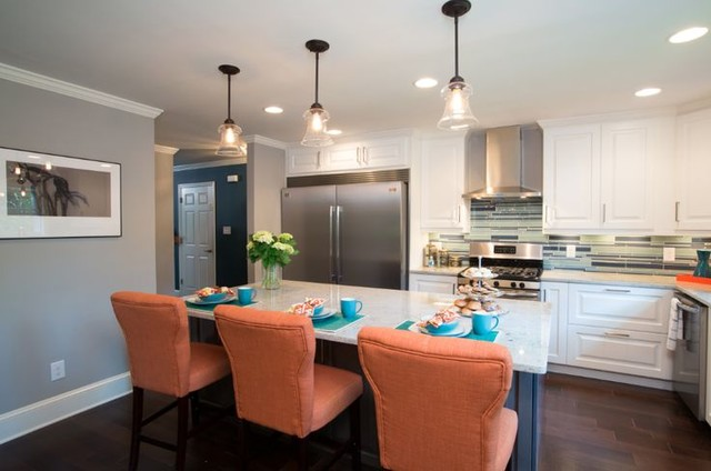 Property Brothers Kitchen Atlanta By Savoy House Lighting - Property brothers kitchen remodels