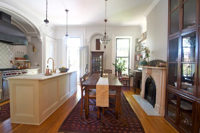 Prospect Heights Townhouse eclectic-kitchen