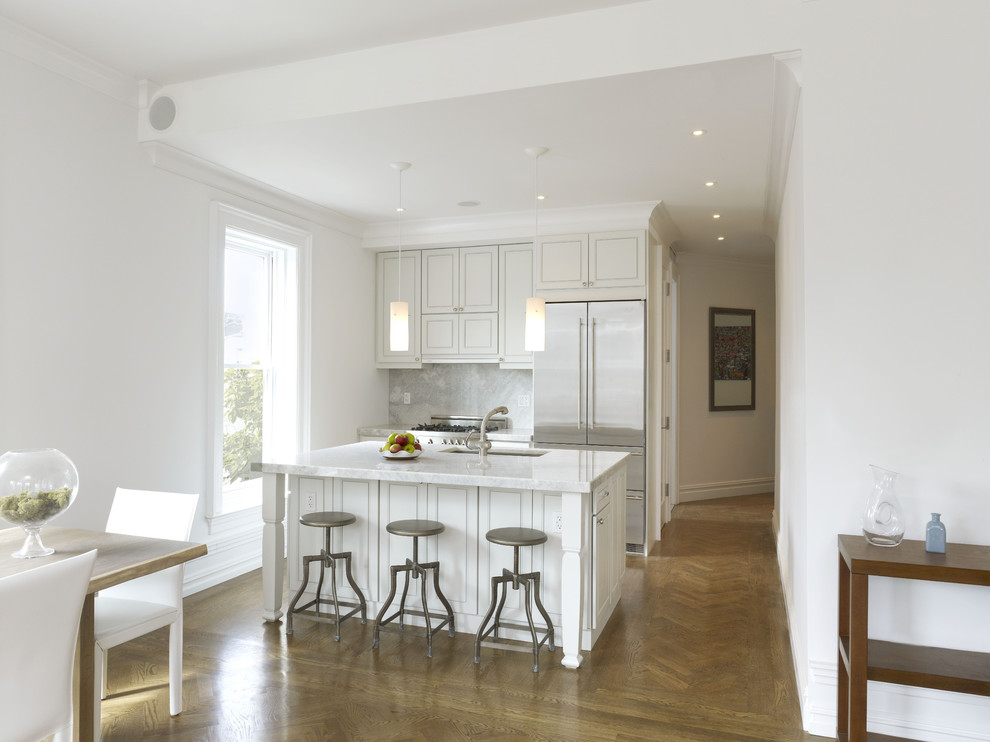 Prospect Park West Kitchen Contemporary Kitchen New York By