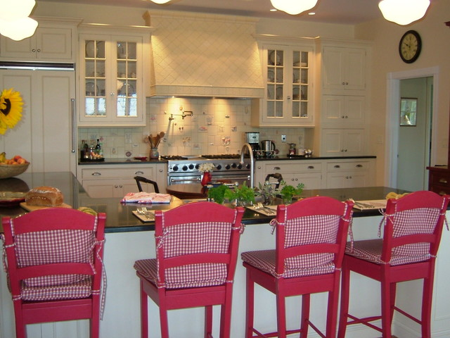 Provence style kitchen traditional kitchen portland maine by