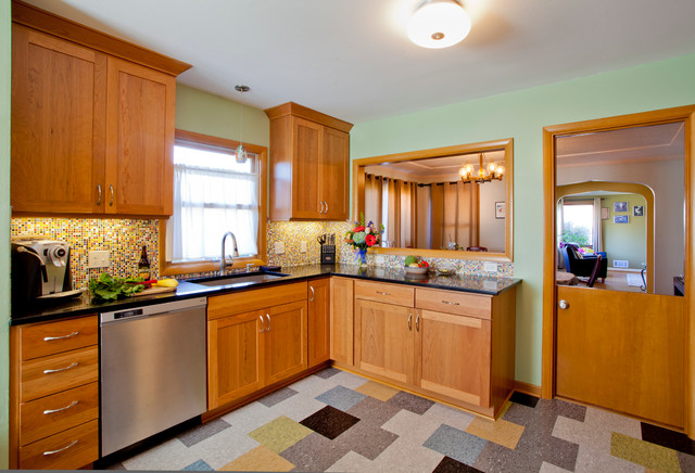 Providence Heights Kitchen traditional-kitchen