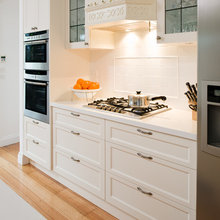 Provincial inspired cooker and range
