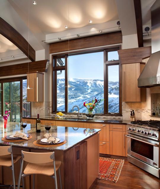 Psaki Residence contemporary-kitchen