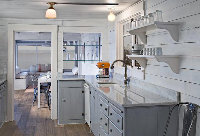 Puget Sound beach cabin - Eclectic - Kitchen - seattle ...