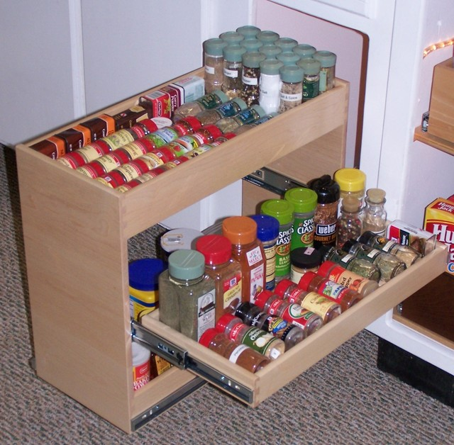 Pull Out Spice Rack Kitchen Dc Metro By Shelfgenie