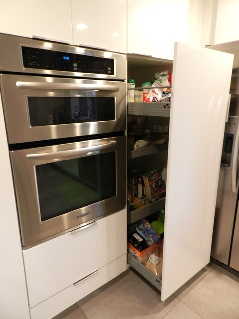 Pullout Kitchen Cabinet contemporary-kitchen