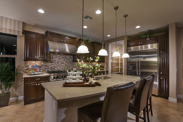 "Pulte Homes-""Celebration"" Model Home-Vail, Arizona traditional-kitchen"