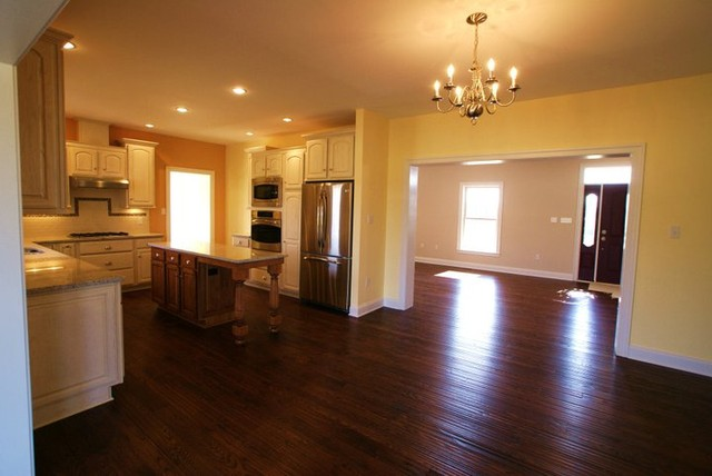 Purcellville, VA New Home traditional-kitchen