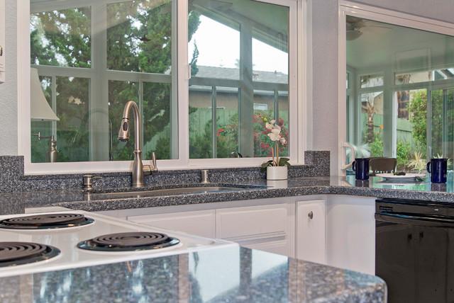 Pure white rothshire kitchen for Miramar kitchen and bath