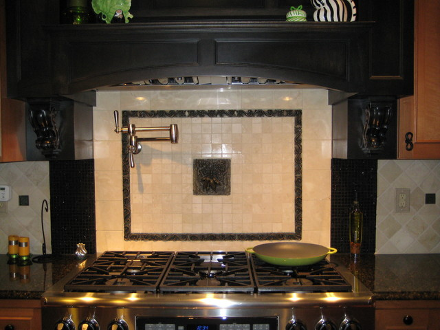 Q. Kitchen Tile Backsplash Ideas - contemporary - kitchen ...