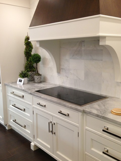 Heartwood Kitchens Showroom Renovations - Transitional - Kitchen - boston - by Heartwood Kitchens