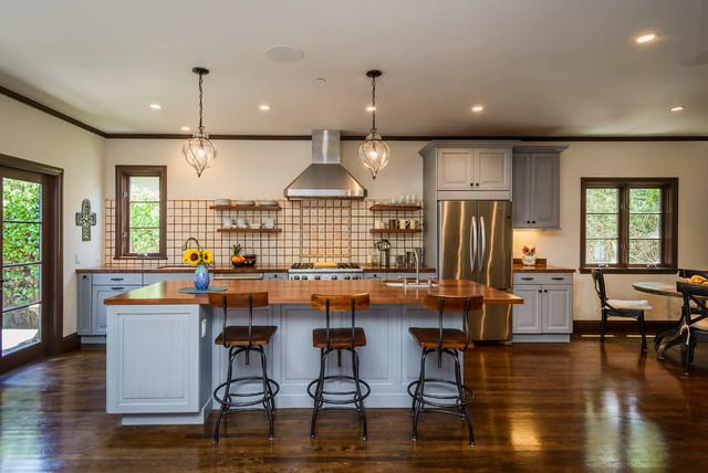 Quaint burlingame kitchen eclectic kitchen san for Quaint kitchen designs