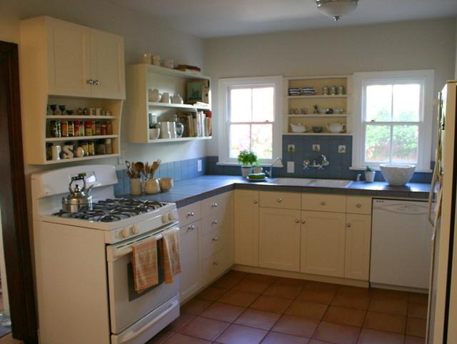 Quaint hollywood hills kitchen remodle traditional for Quaint kitchen designs