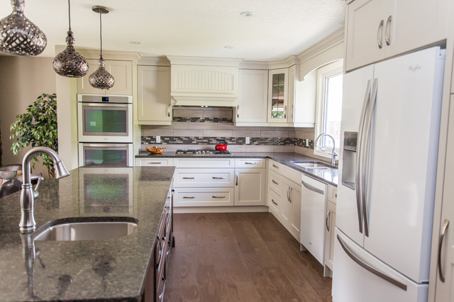 Quaker road transitional kitchen other metro by for Quaker kitchen design