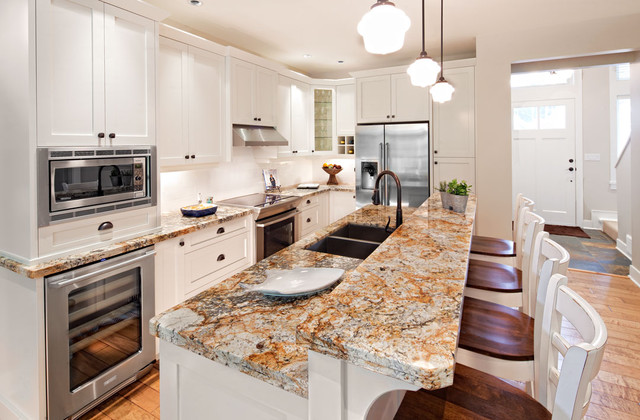 Qualicum landing traditional kitchen vancouver by for Kitchen cabinets vancouver island