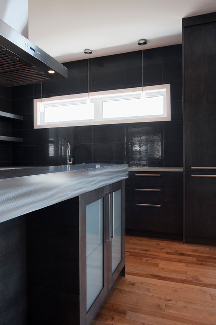 Quand oser prend tout son sens! | A daring experience! contemporary-kitchen