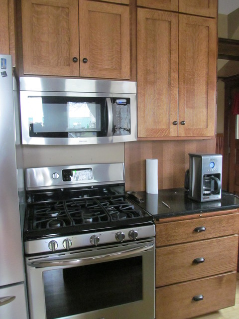 Quarter sawn Oak Kitchen Cabinets - Traditional - Kitchen - Other ...