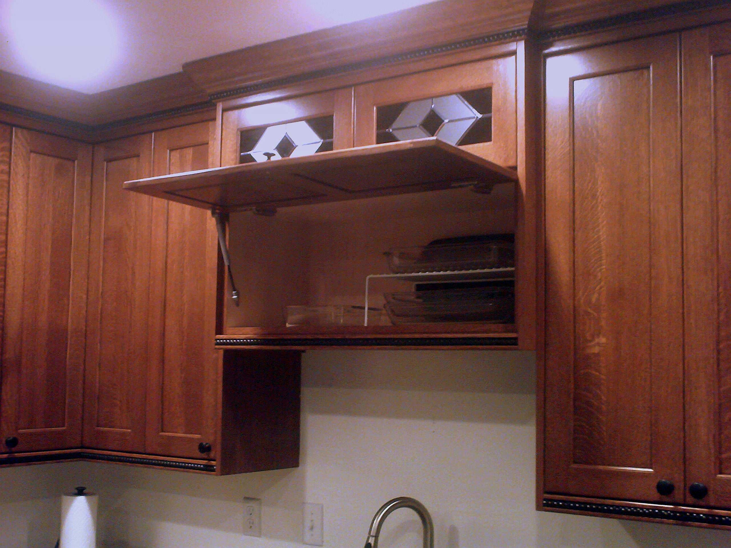 Quarter sawn White Oak kitchen