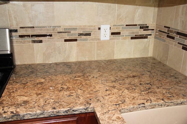 Quartz Countertop Update in Dallas, PA - Traditional - Kitchen - Other ...
