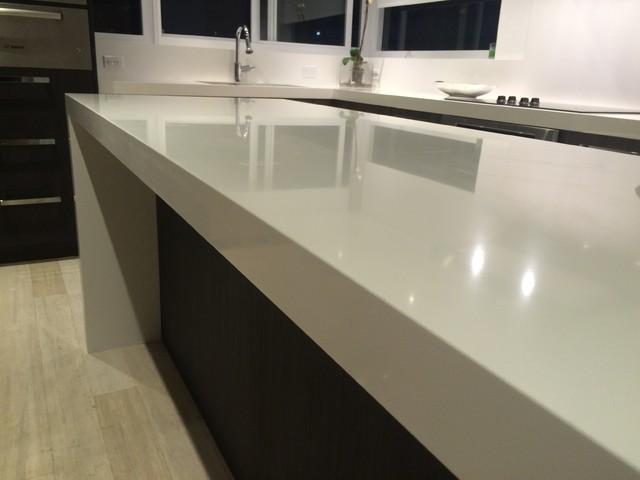 quartz kitchen countertops beach style kitchen miami