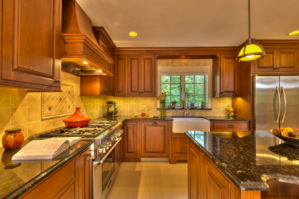 Quechee Vermont Renovation featuring Crystal Cabinetry ...