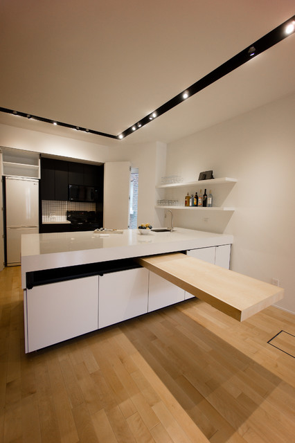 Queen and dovercourt contemporary kitchen toronto for Design consulting toronto