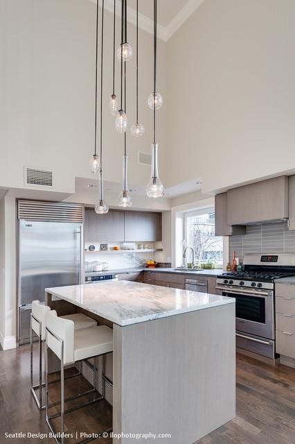 Queen Anne Condo Remodel contemporary-kitchen