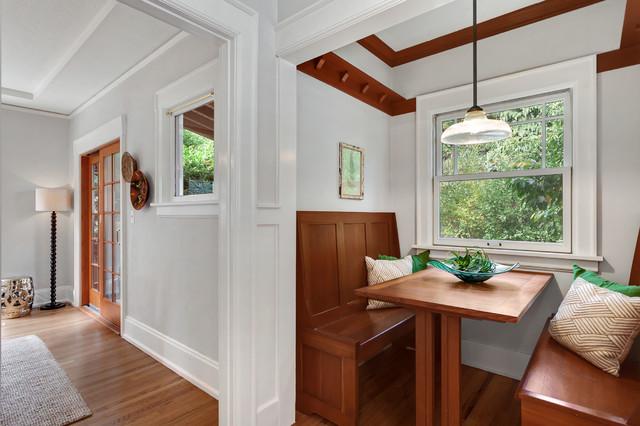 Queen Anne Craftsman Home - Мастеровой - Кухня - Сиэтл - от эксперта