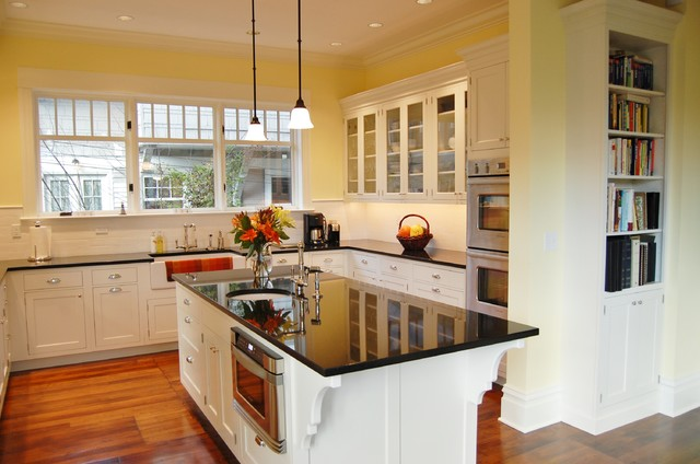 Queen anne home traditional kitchen seattle by for Queen anne style kitchen