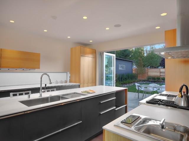 Queen Anne Kitchen Modern Kitchen Seattle By Jim